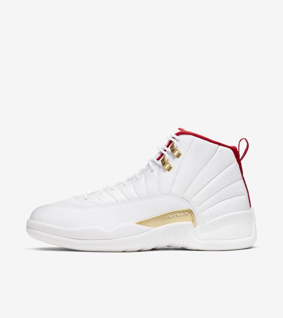 Air Jordan XII 'White/University Red' Release Date. Nike SNKRS