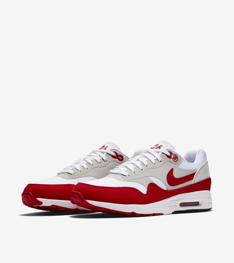 Nike Air Max 1 Ultra 2.0 LE « White & University Red » pour Femme