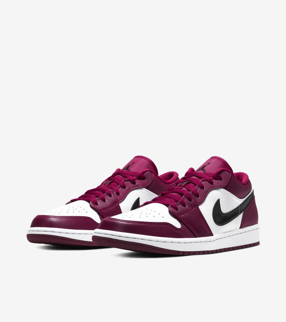 Air Jordan 1 Low 'Noble Red/White' Release Date. Nike SNKRS MY