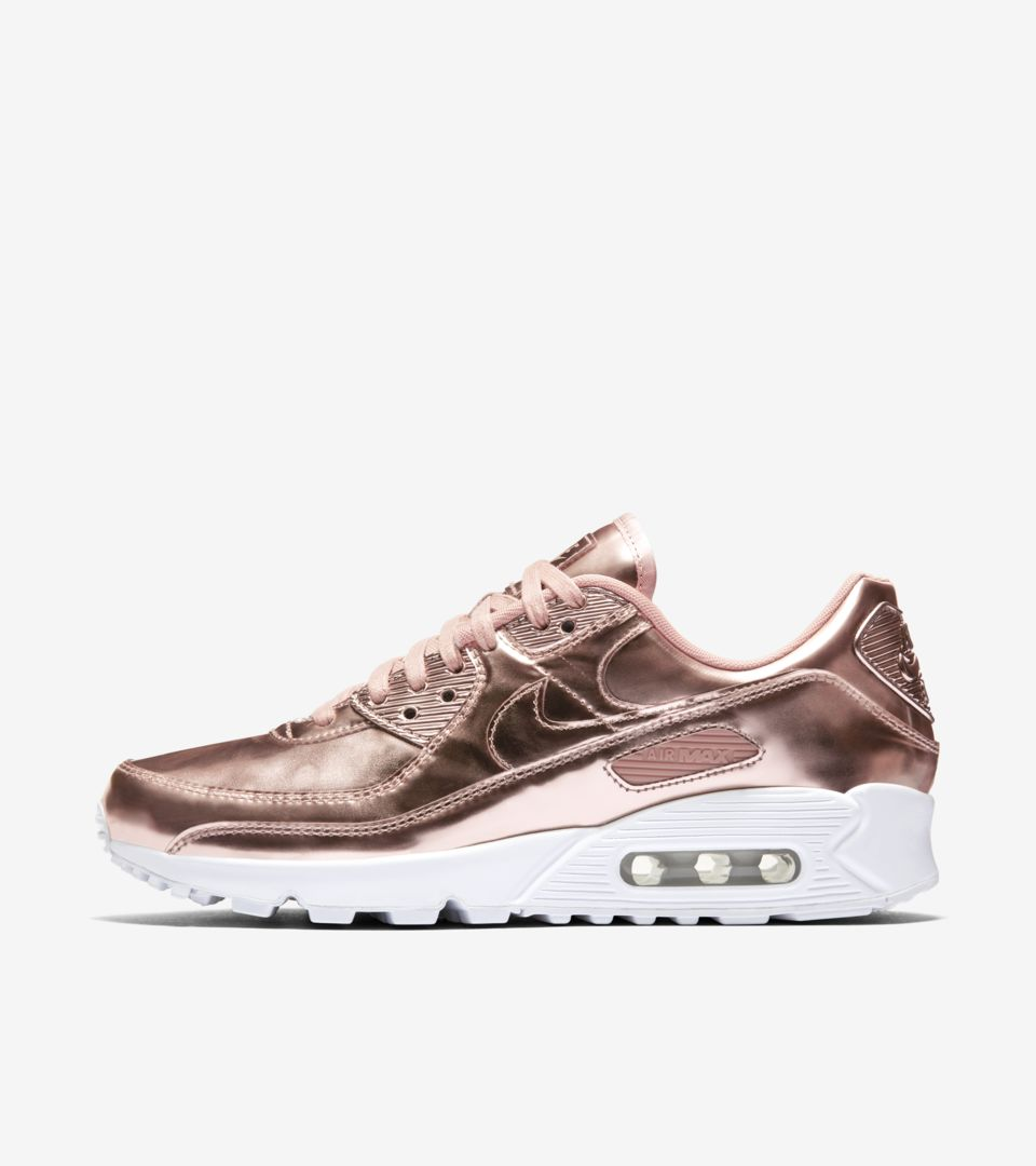 Women's Air Max 90 Metallic 'Rose Gold' Release Date. Nike ...
