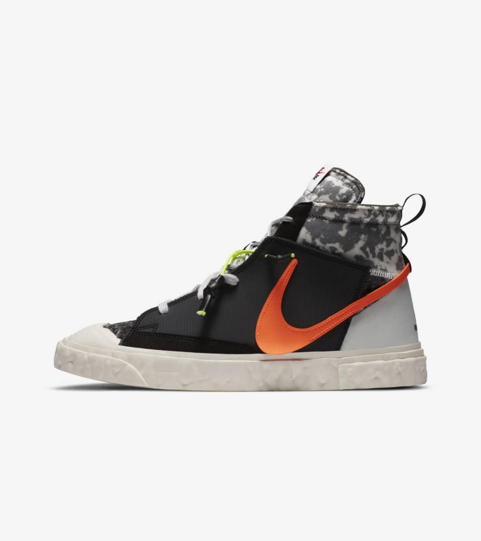 Blazer Mid x READYMADE 'Black' Release Date. Nike SNKRS ZA