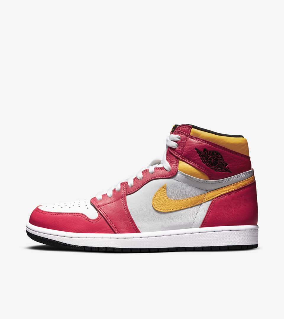 Air Jordan 1 'Light Fusion Red' Release Date. Nike SNKRS MY