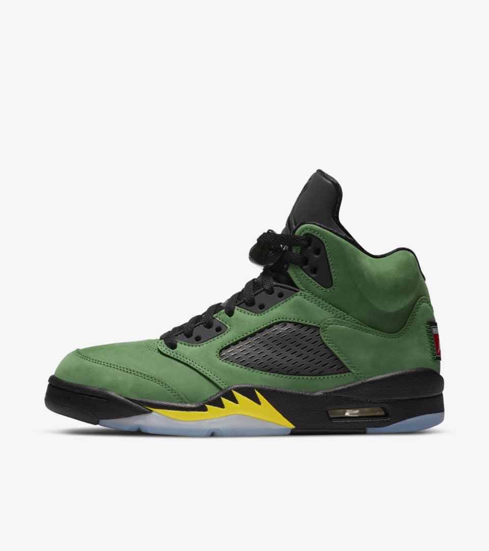 Air Jordan 5 'Apple Green' Release Date
