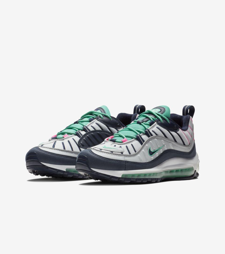 Nike Air Max 98 'Pure Platinum & Obsidian' Release Date