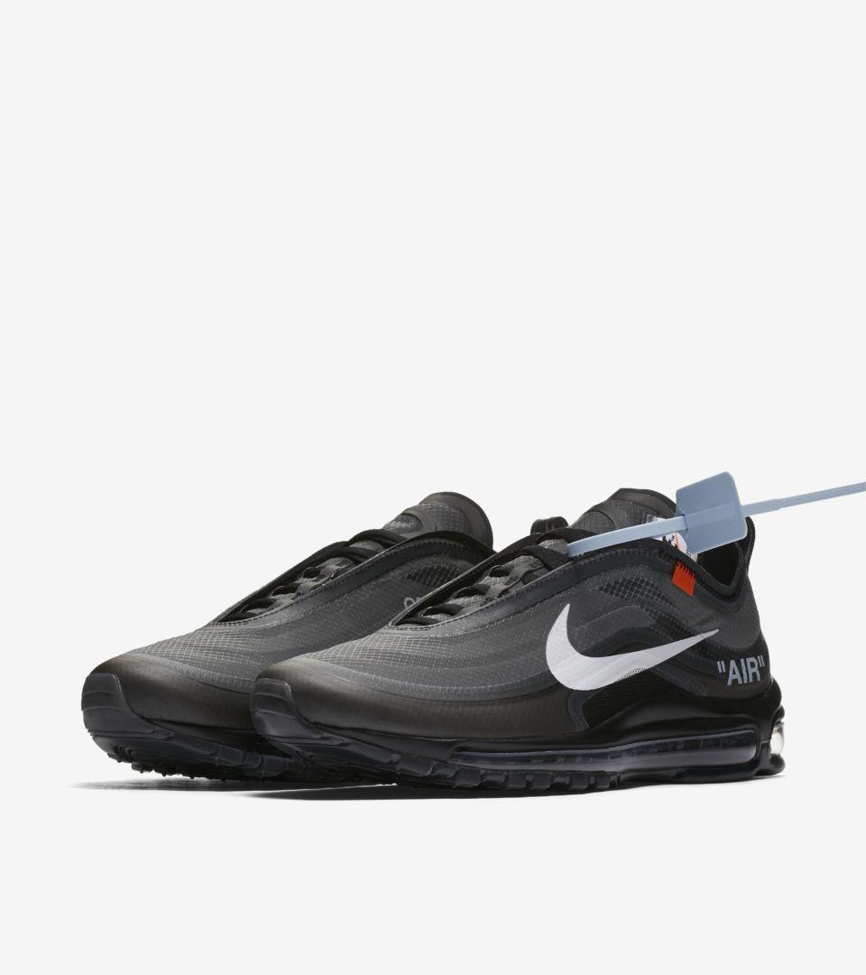 The 10: Nike Air Max 97 'Black & Cone' Release Date