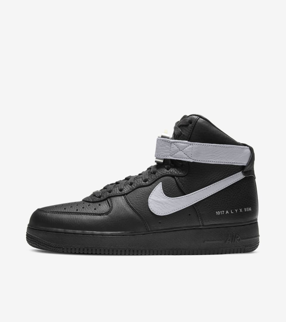 Air Force 1 High x Alyx 'Black' Release Date. Nike SNKRS GB