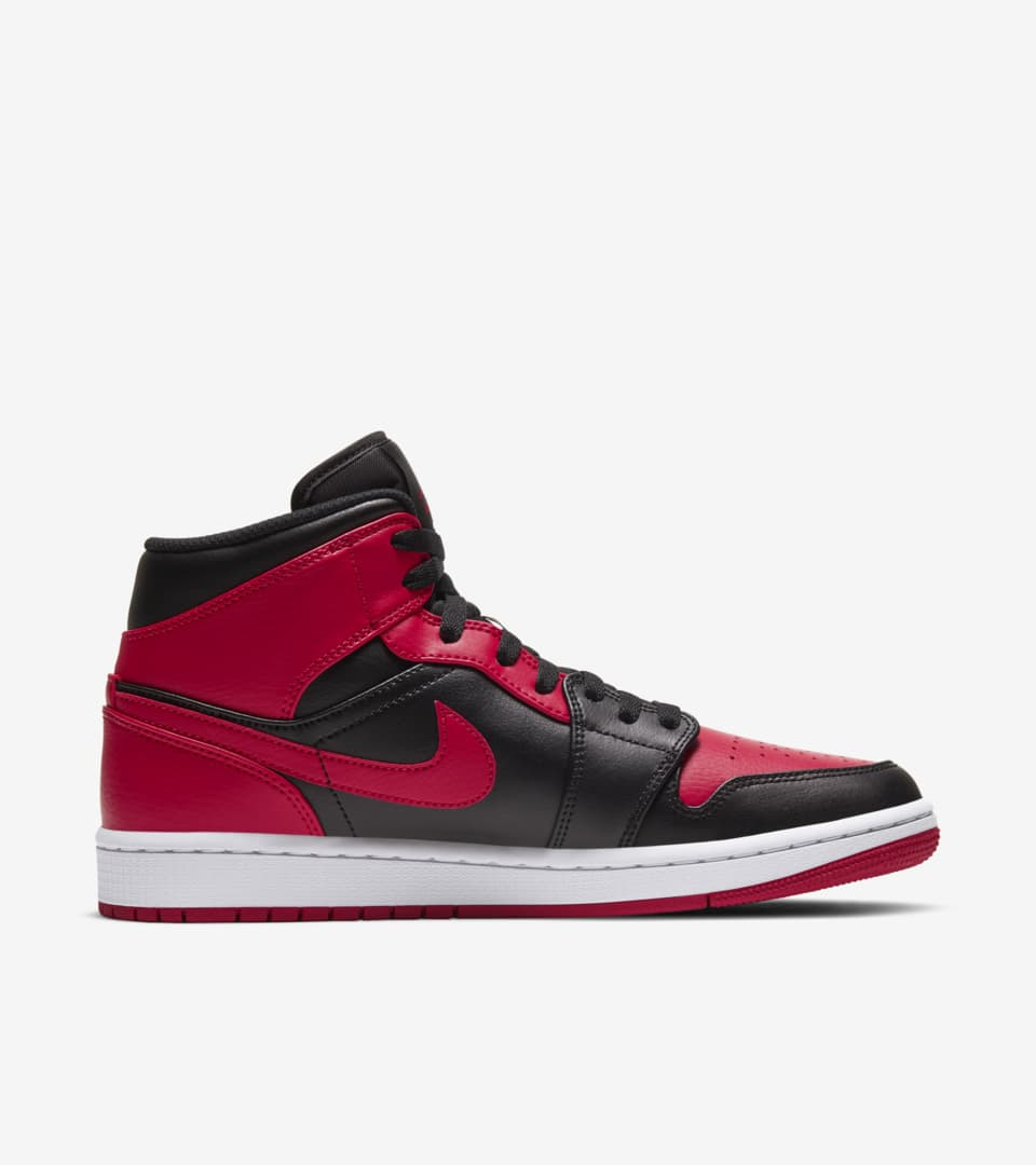 Air Jordan 1 Mid 'Red and Black' Release Date. Nike SNKRS MY