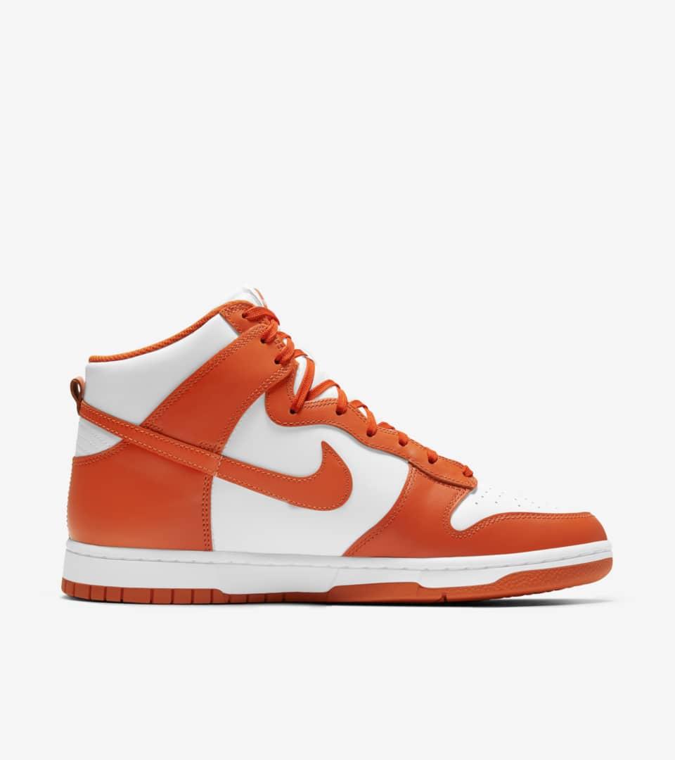 Dunk High 'Orange Blaze' Release Date. Nike SNKRS ID