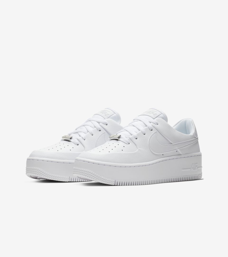 Nike Women S Air Force 1 Sage Low White Release Date Nike Snkrs