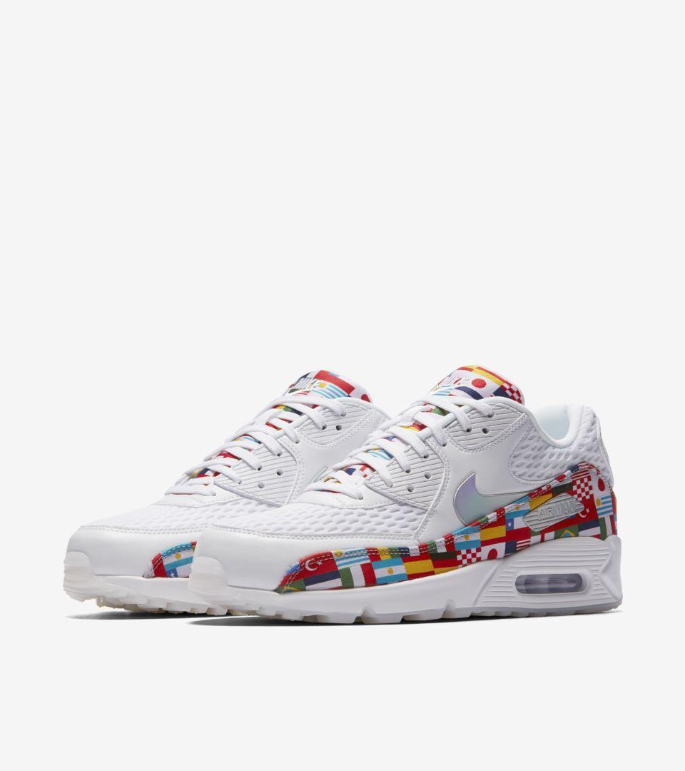 Nike Air Max 90 'White & Multicolor' Release Date