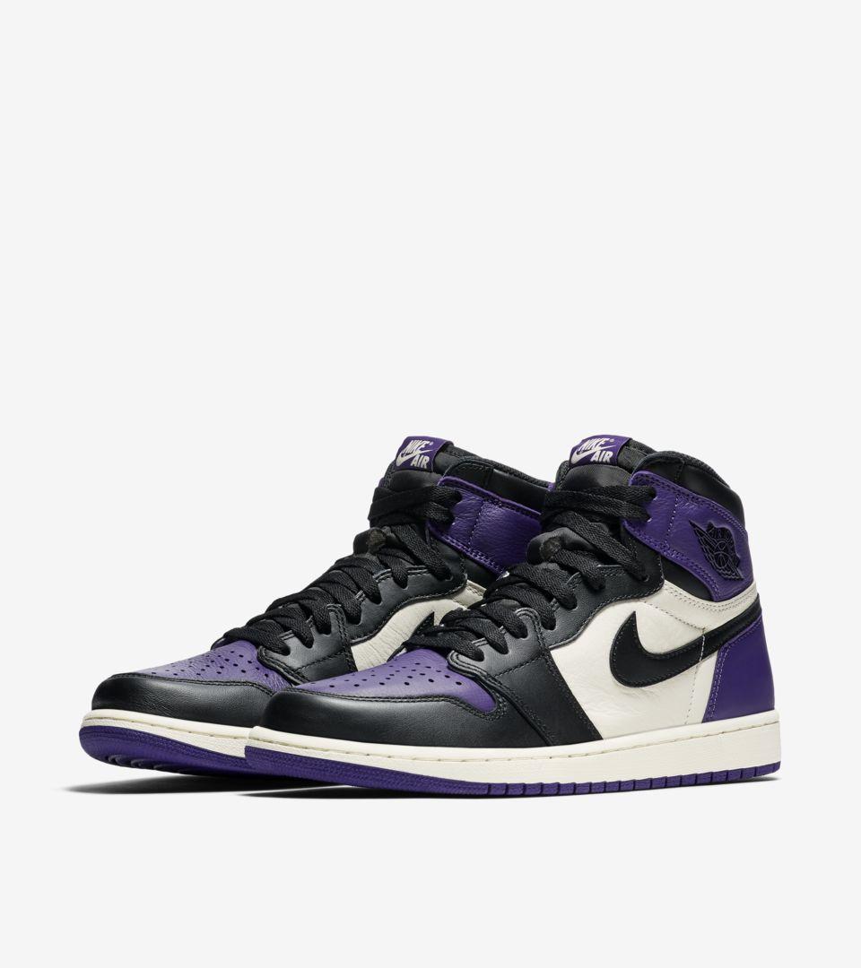 Air Jordan 1 Retro 'Court Purple' Release Date. Nike SNKRS