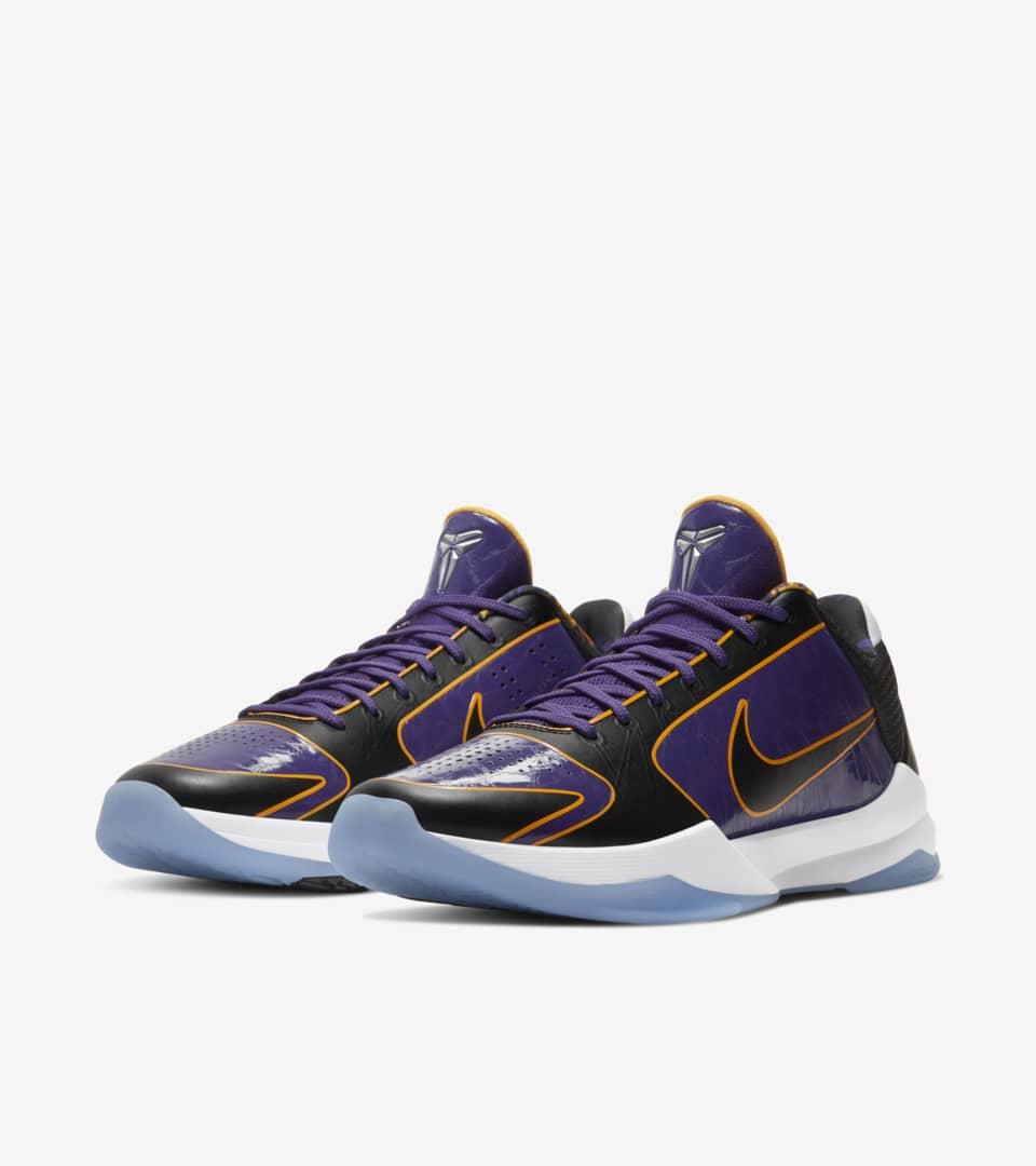 Kobe V Protro '5x Champ' Release Date. Nike SNKRS MY
