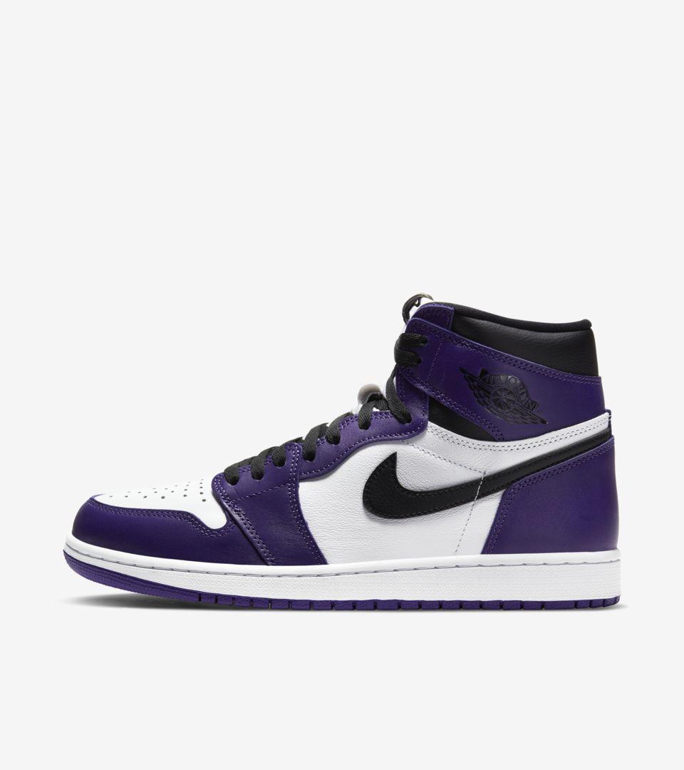 Air Jordan 1 'Court Purple' Release Date. Nike SNKRS SG