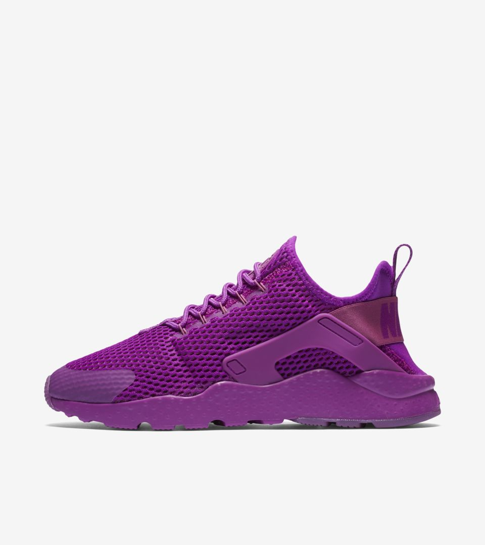Women S Nike Air Huarache Ultra Breathe Hyper Violet Heritage Nike Snkrs