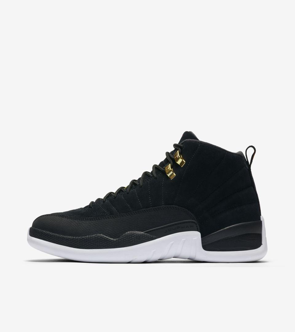 Air Jordan XII 'Black/White' Release Date. Nike SNKRS IN