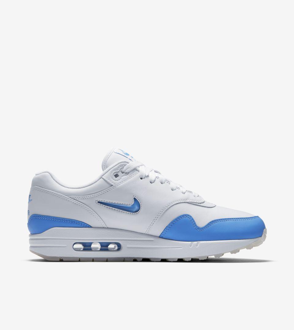 air max one bleu blanc