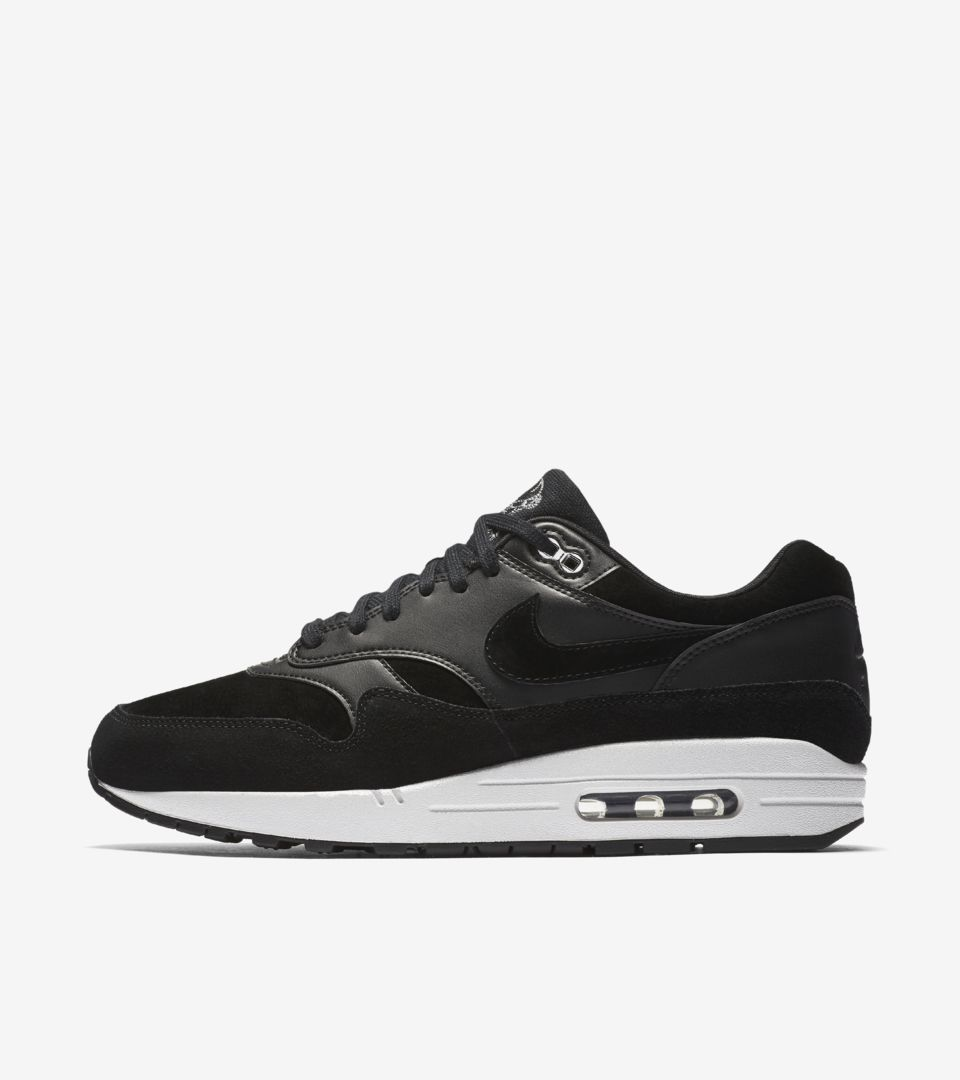 Nike Air Max 1 Premium 'Black & Off White' Release Date. Nike ...