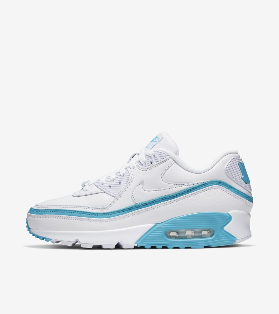 Air Max 90 x Undefeated 'White/Blue Fury' Release Date