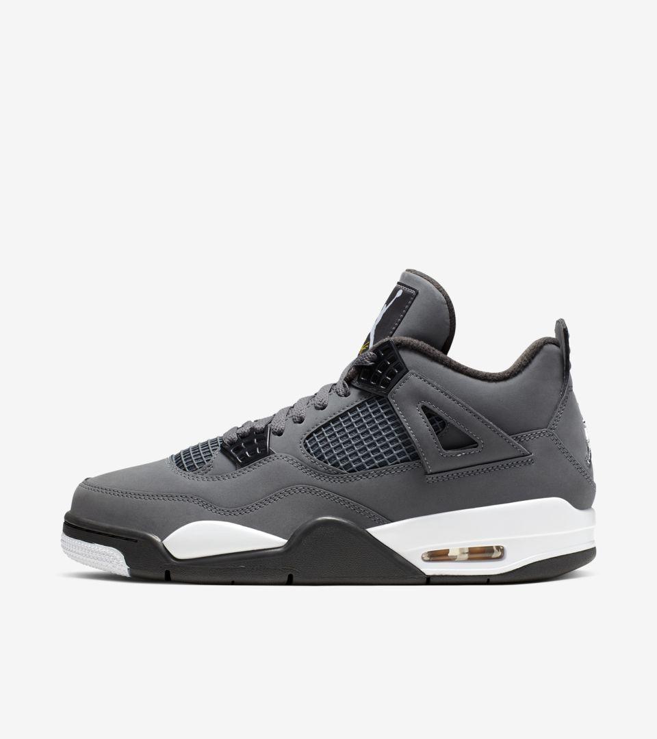 Air Jordan IV 'Cool Grey' Release Date. Nike SNKRS