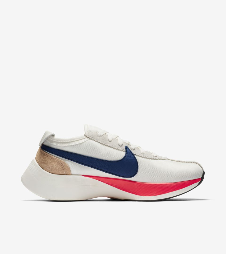 Nike Moon Racer Sail Solar Red Gym Blue Release Date Nike Snkrs