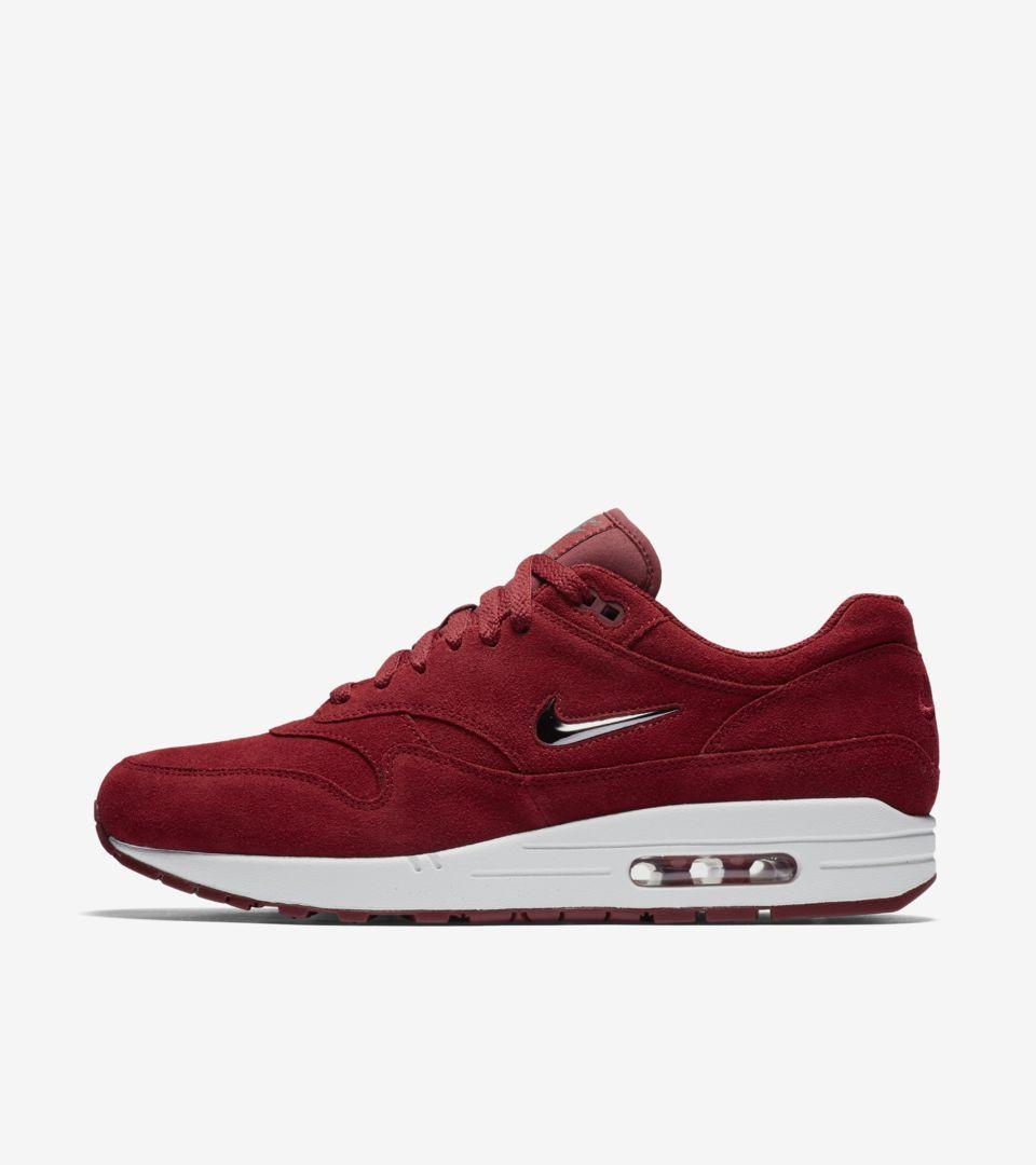 Nike Air Max 1 Premium « Dark Red ». Nike SNKRS LU