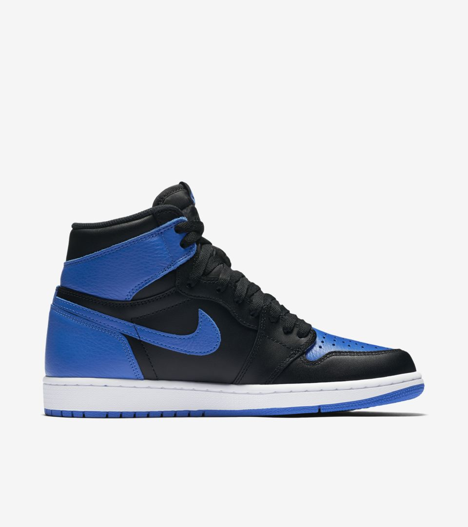 Air Jordan 1 Retro 'Royal'. Nike SNKRS
