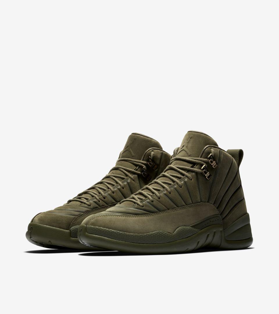 Air Jordan 12 Retro PSNY 'Medium Olive' Release Date. Nike SNKRS LU