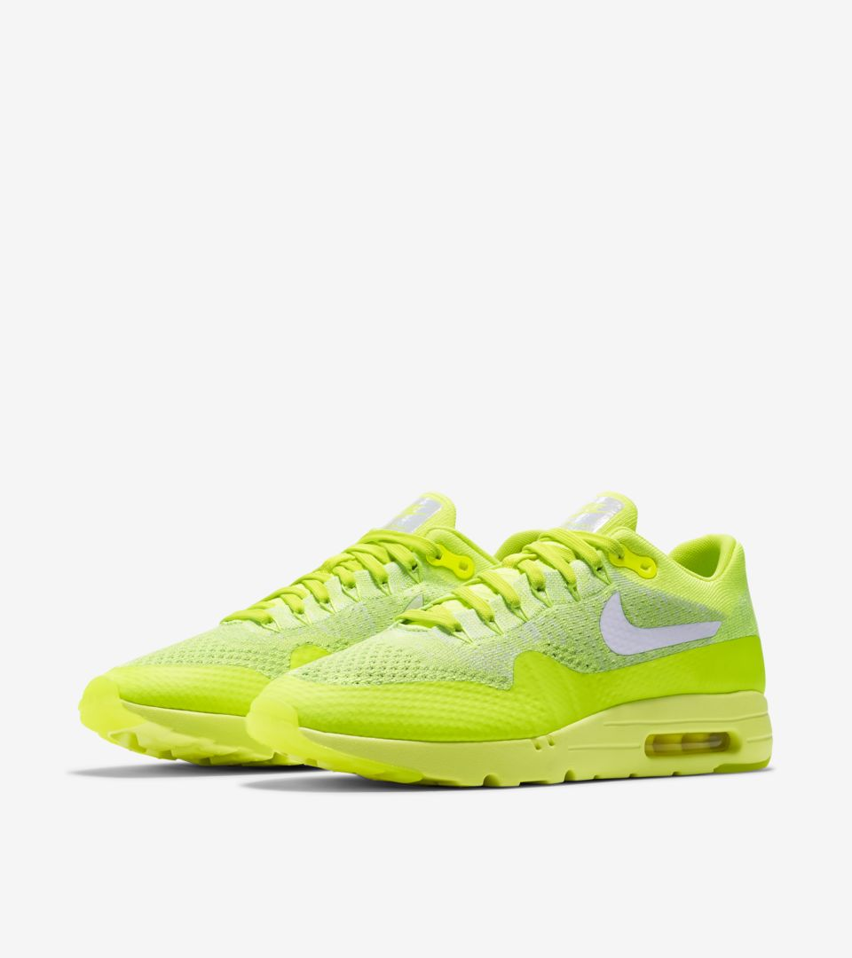 Nike Air Max 1 Ultra Flyknit 'Volt' Release Date