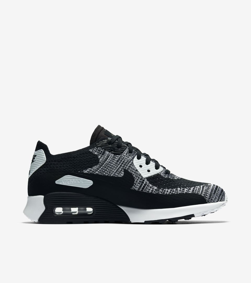 Women's Nike Air Max 90 Ultra 2.0 Flyknit 'Black & Anthracite ...