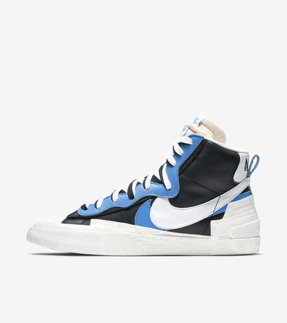 Blazer Mid 'Sacai' Release Date. Nike SNKRS