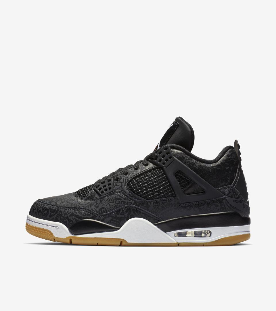 Date de sortie de la Air Jordan 4 « Black & Gum Light Brown ...