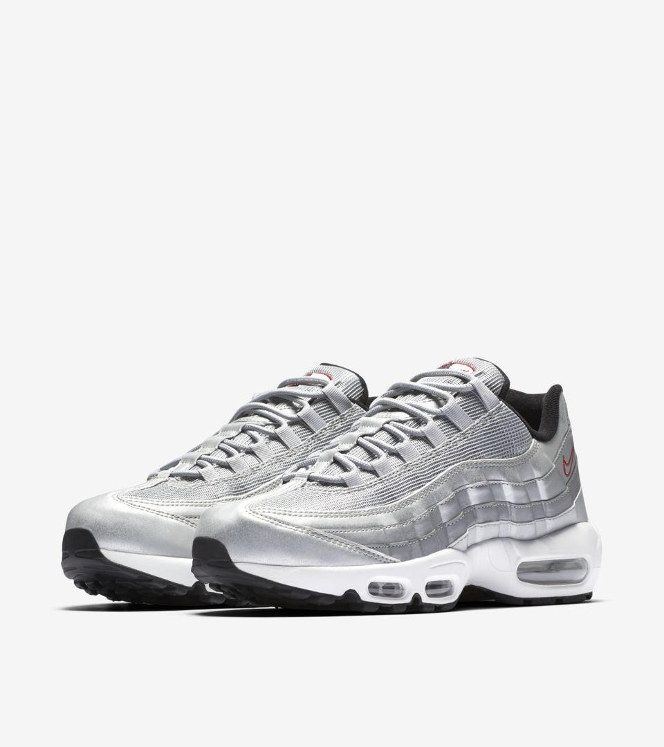 Nike Air Max 95 Premium 'Metallic Silver'