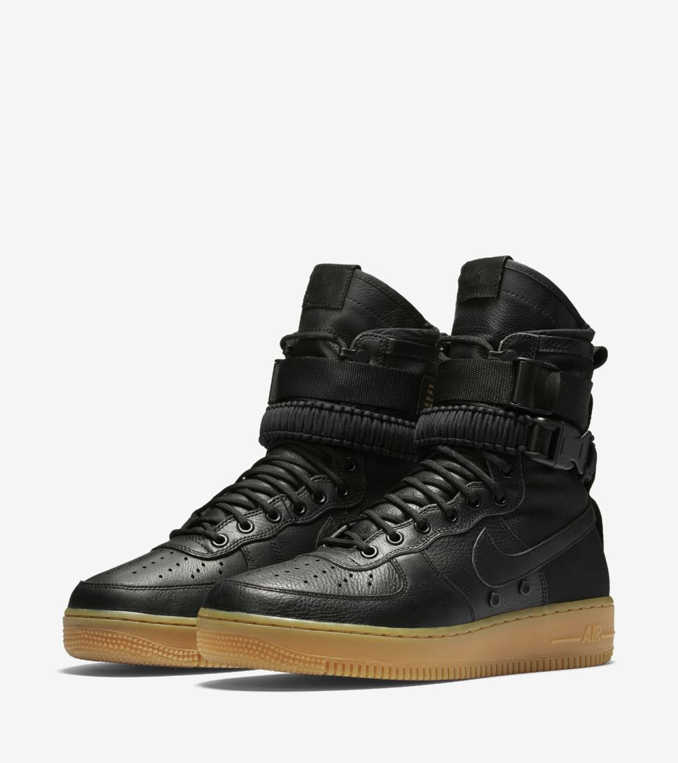 Nike Special Field Air Force 1 'Black & Gum Light Brown'. Release ...
