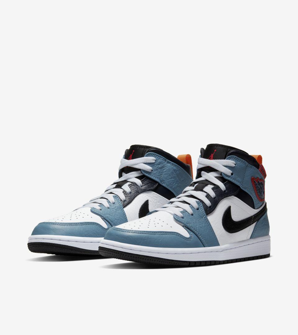 Air Jordan I Mid Fearless 'FACETASM' Release Date. Nike SNKRS