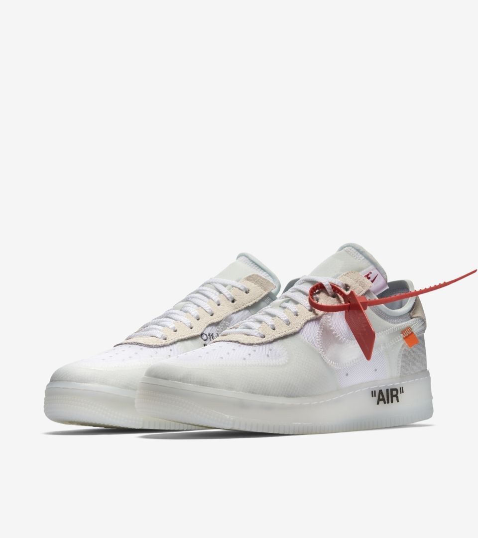 Nike The Ten Air Force 1 Low 'Off White' Release Date. Nike SNKRS GB