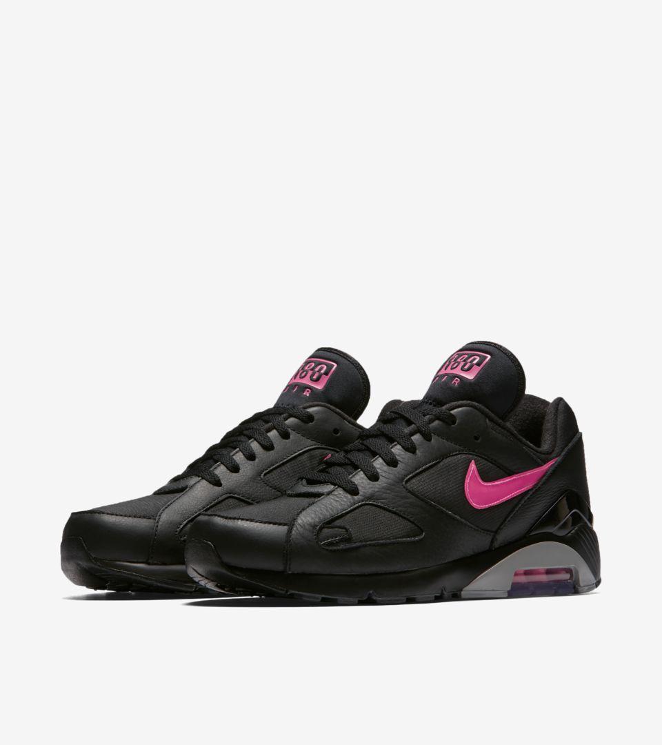 Date de sortie de la Nike Air Max 180 « Black & Pink Blast ...