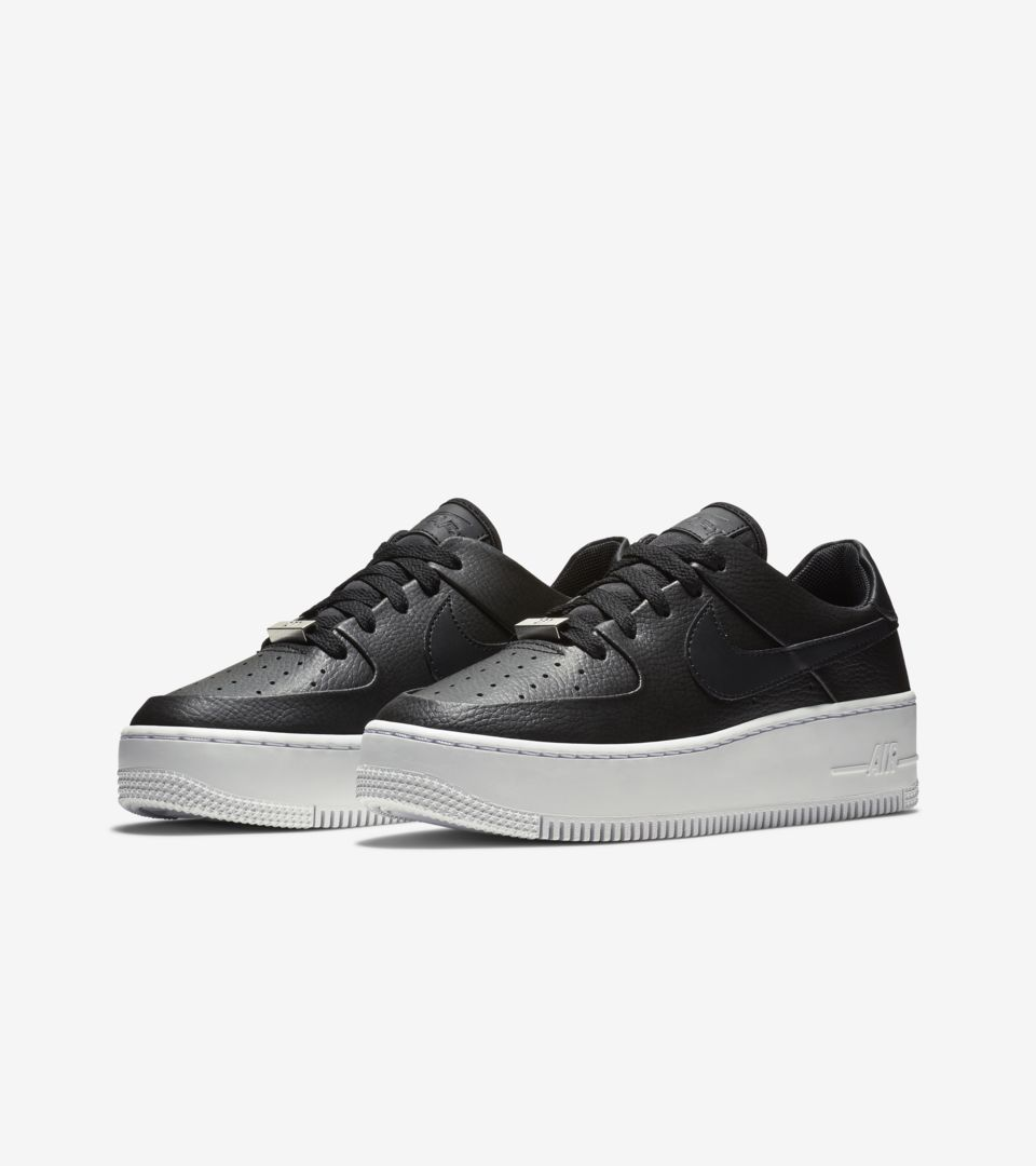 nike air force 1 sage low donna nere