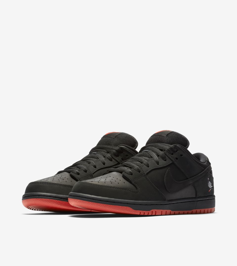 Nike SB Dunk Low Pro 'Black Pigeon' Release Date