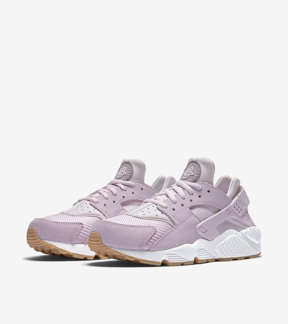 nike huarache pink and purple