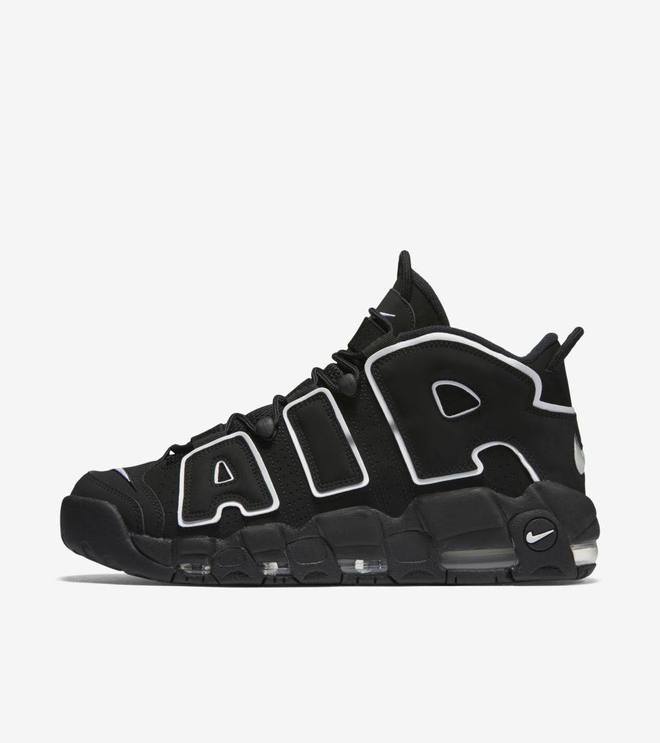 Air More Uptempo 'Black' 發售日期. Nike