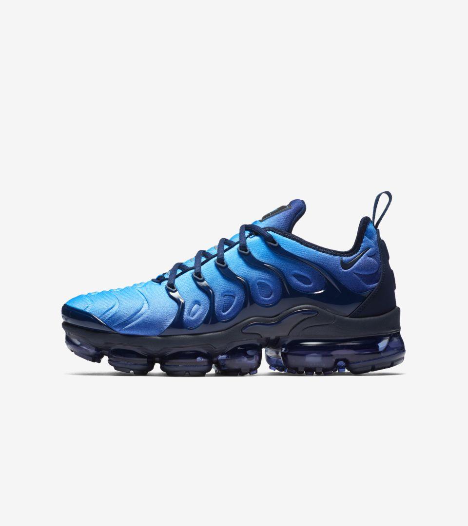 Nike Air Vapormax Plus 'Obsidian & Photo Blue' Release Date. Nike ...