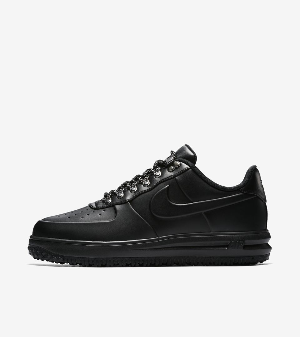Nike Lunar Force 1 Duckboot Low 'Sequoia and Black' Release Date ...