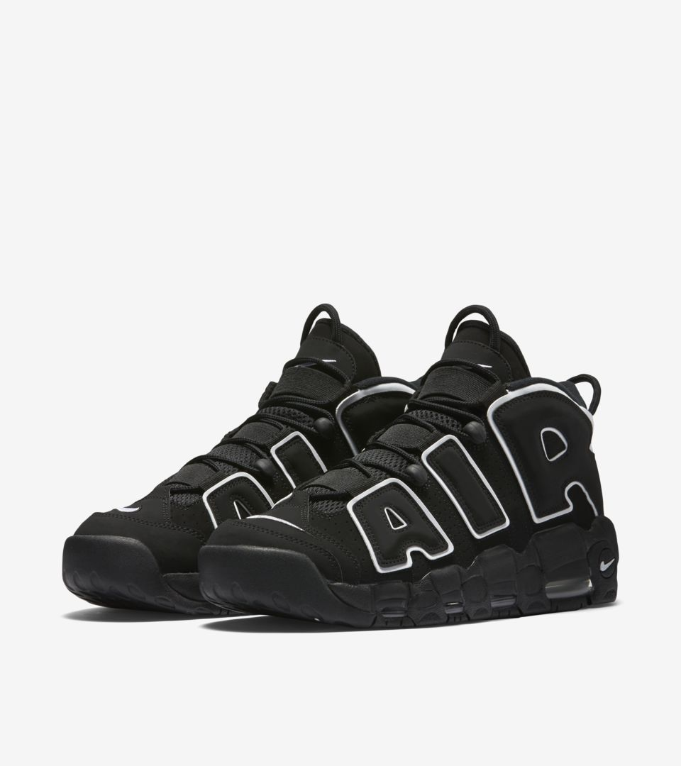 Air More Uptempo 'Black' Release Date