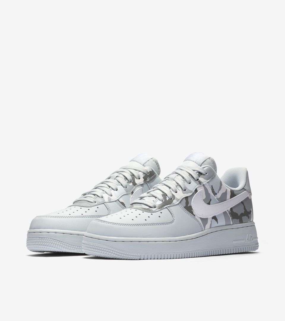 Nike Air Force 1 Low 'Pure Platinum & Wolf Grey' Release Date