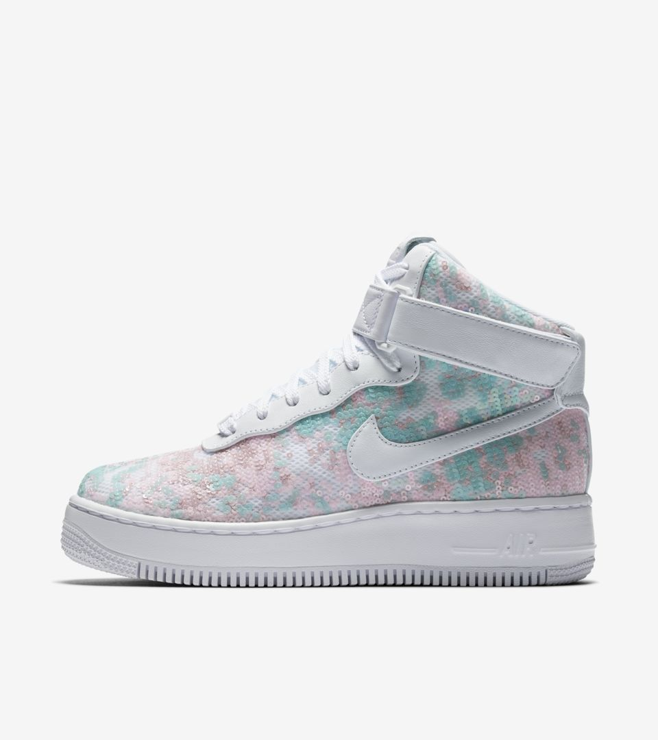 air force 1 upstep gris