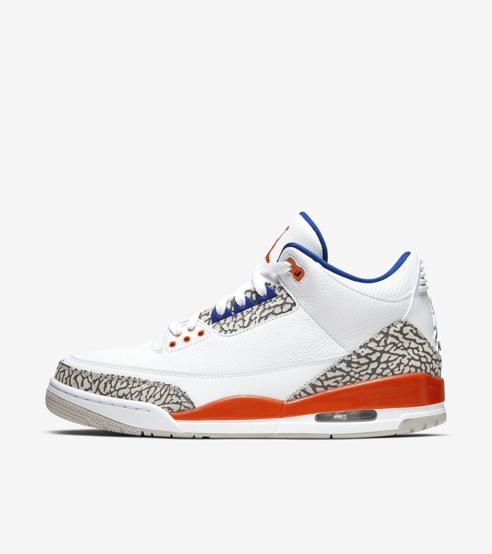 Air Jordan 3 'White/Orange' Release Date. Nike SNKRS