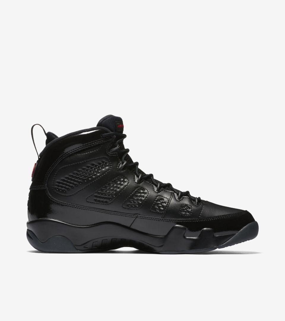 Air Jordan 9 Retro 'Black & University Red' Release Date. Nike SNKRS