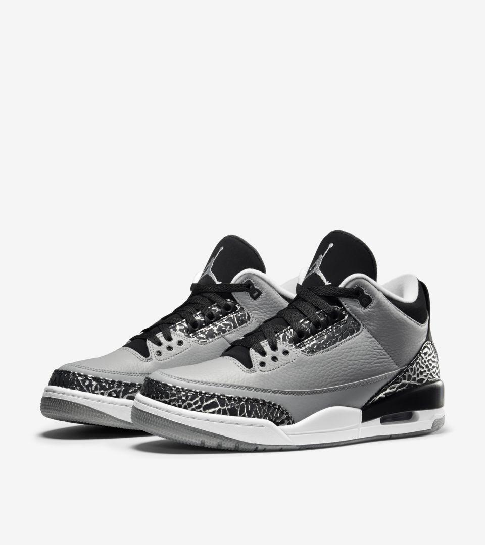 Air Jordan 3 Retro 'Wolf Grey'