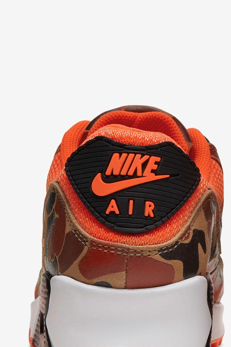 Air Max 90 'Orange Duck Camo' Release Date. Nike SNKRS SE