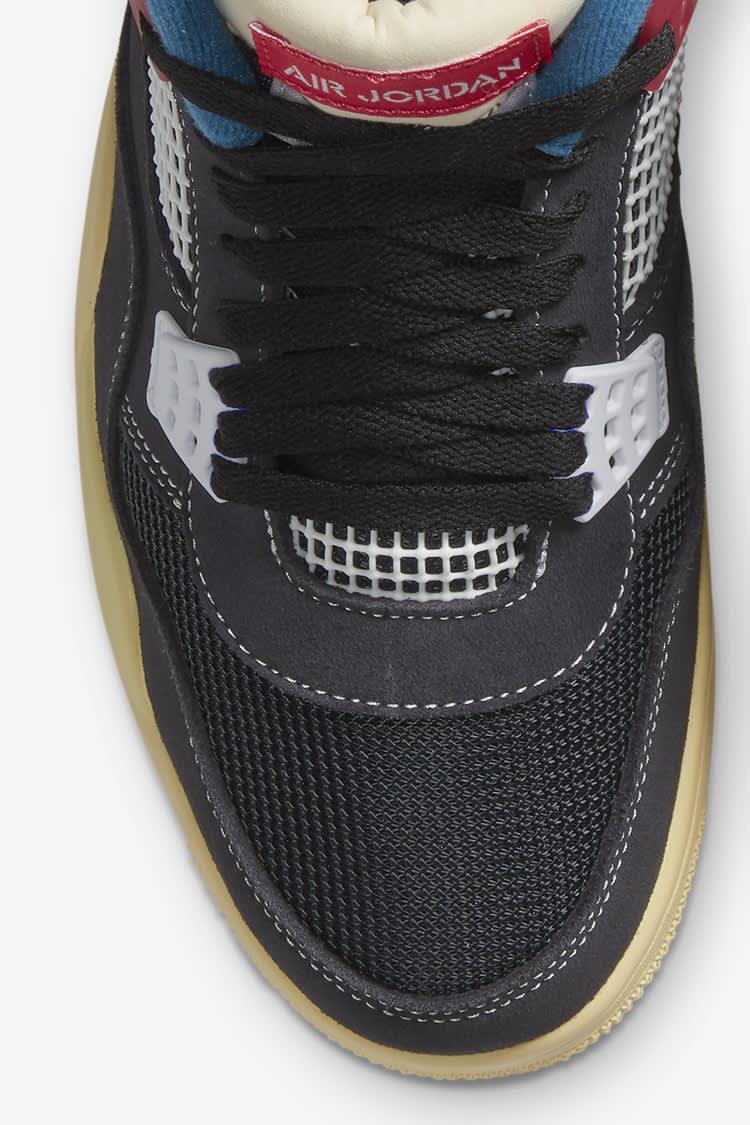 Air Jordan 4 x UNION LA 'Off Noir' Release Date. Nike SNKRS ID